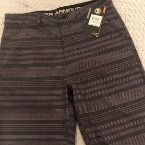 NWT Boys UA Match Shorts size 18